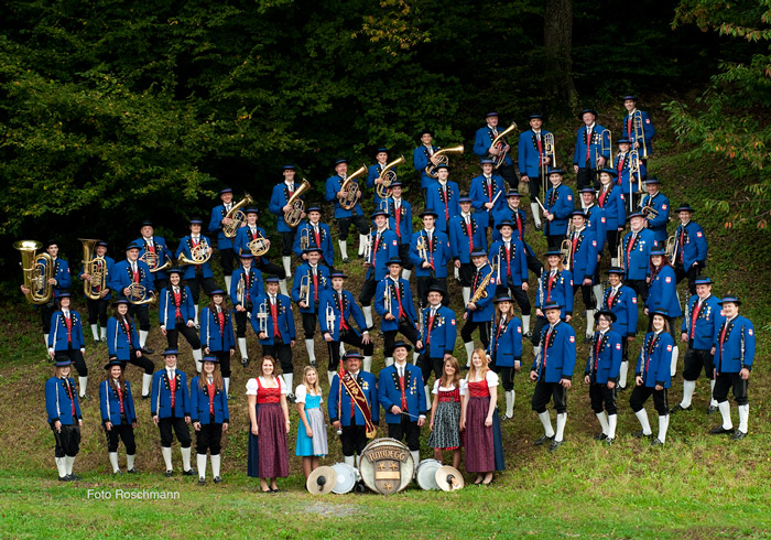 Musikverein Randegg Gruppenfoto