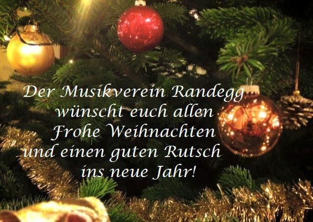 frohe weihnachten und einen guten rutsch ins neue jahr musikverein randegg